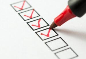 checklist-with-red-market